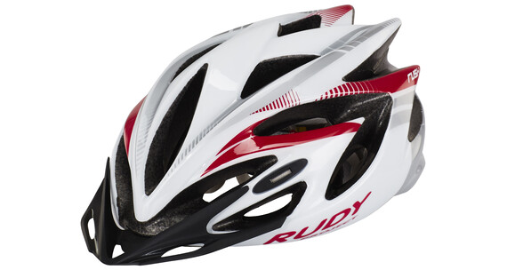 Rudy Project Rush Helme White-Rubin (Shiny)